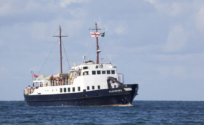 M S Oldenburg- Lundy Island