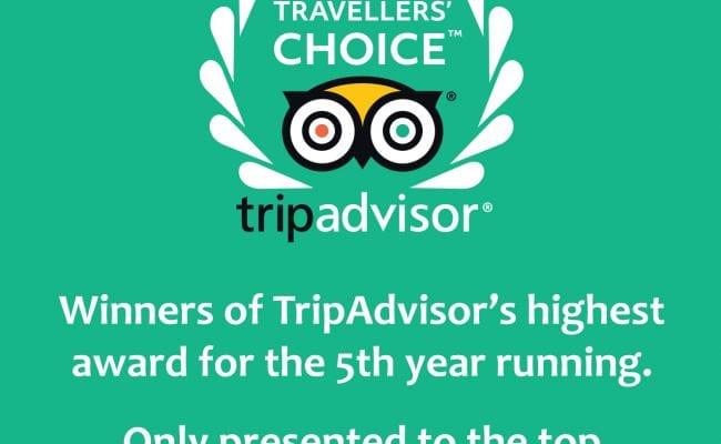 Tripadvisor award winner devon 2019