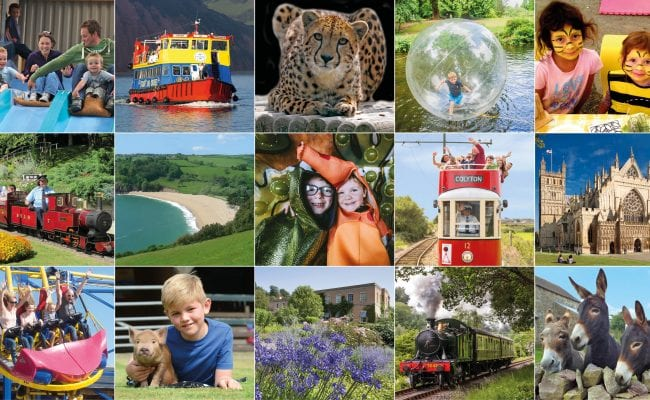 Devon's Top Attractions - mix of attractions