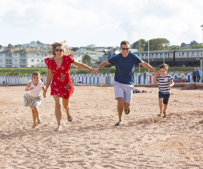 Beverley Holidays family beach fun