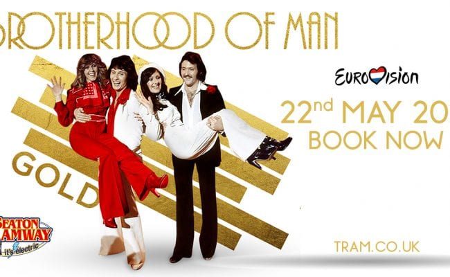 Brotherhood of Man at Seaton Tramway 22nd May 2021