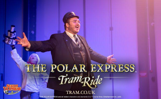 The Polar Express Devon Seaton Tramway Conductor