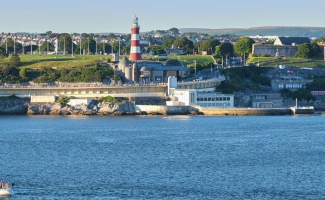 Plymouth Hoe from Sound