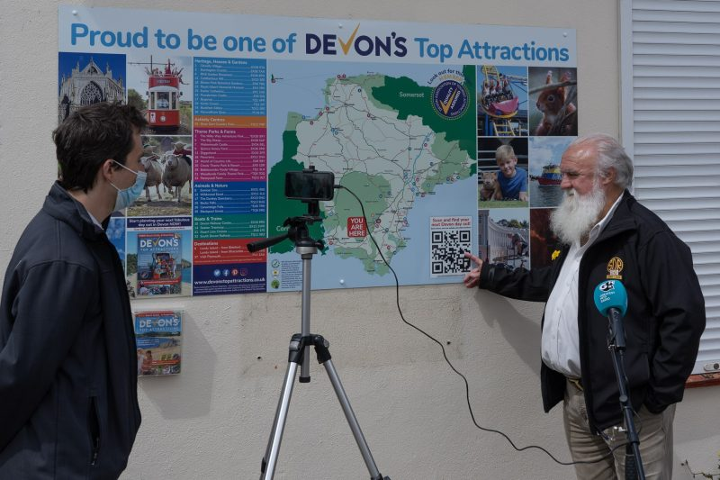 Devon's Top Attractions - Launching All-New Location Map Boards 13.05.21