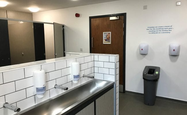 onkey Sanctuary Loo of the year 2019 ladies toilets