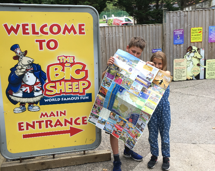 Entrance to the Big Sheep