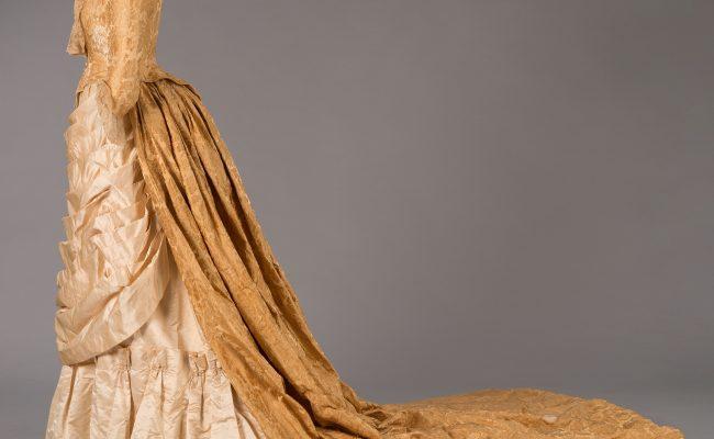 A Victorian dress