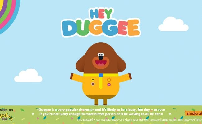 Hey Duggee at the Milkyway Adventure Park