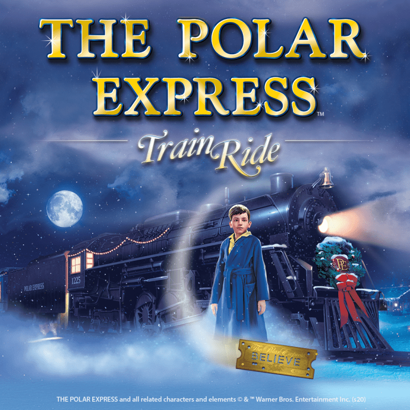 The Polar Express comes to South Devon Railway
