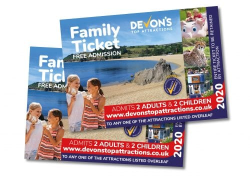 Devon's Top Attractions - Complimentary Family ticket