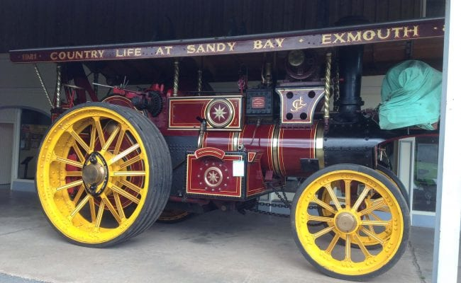 Gladiator Burrell engine at World of Country Life Exmouth Devon
