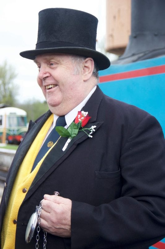 SDR A day out with Thomas Fat Controller