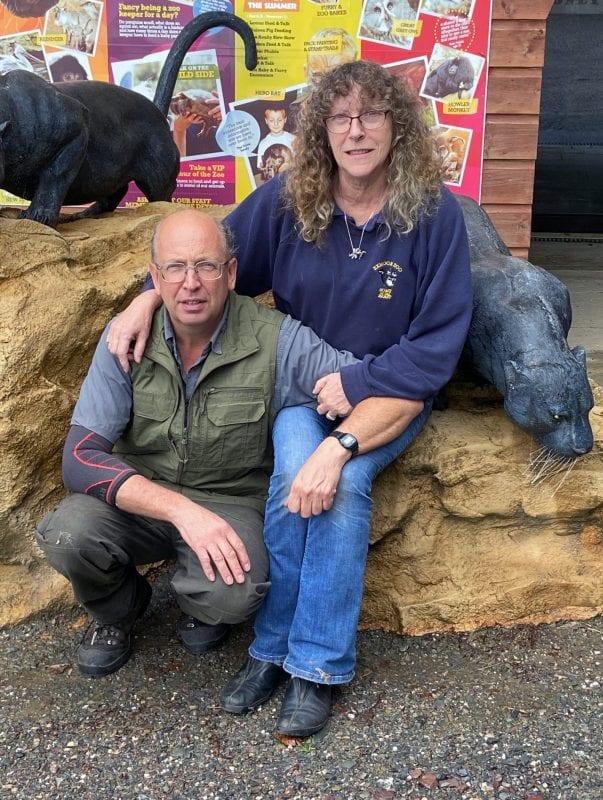 Exmoor Zoo Lynn and Danny Reynolds