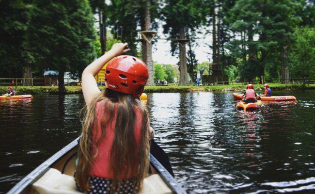 River Dart Country Park Canoe Lake