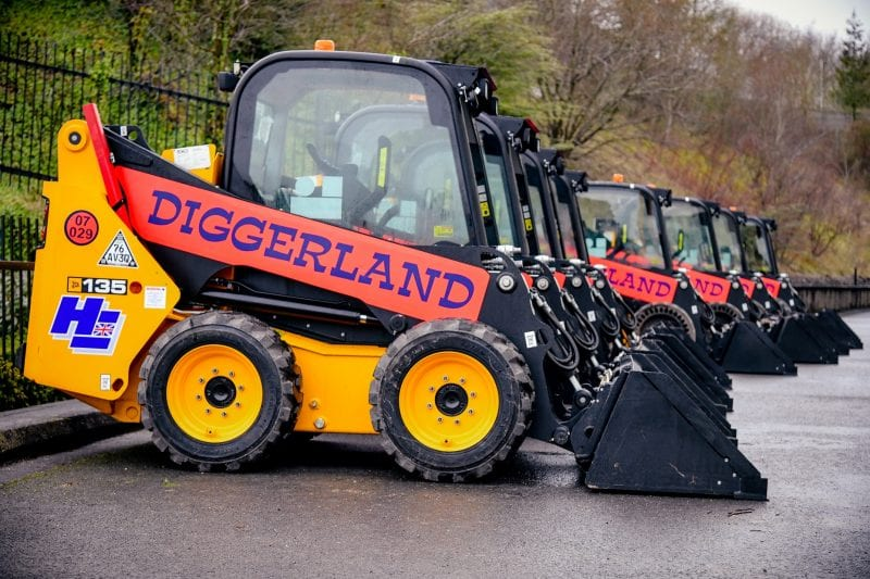 Diggerland JCB Skid Steer Loaders