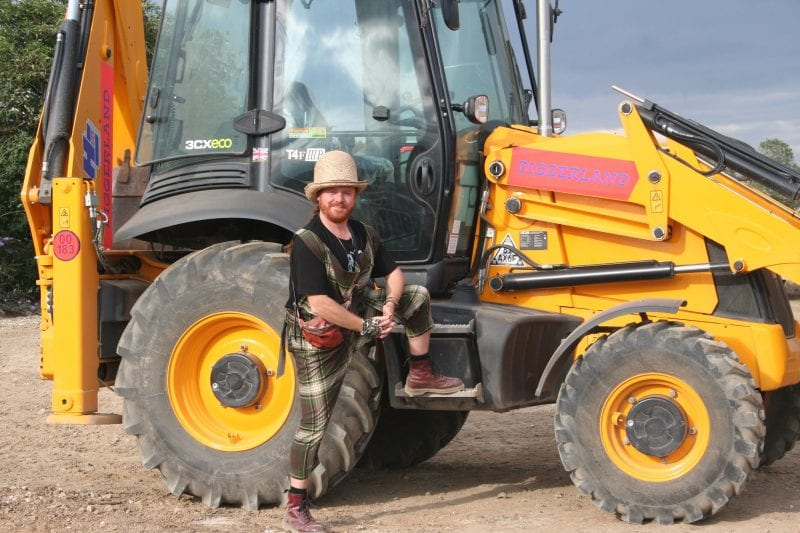 Keith Lemon filming at Diggerland.jpg x