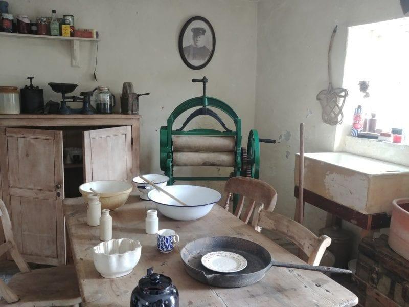 Morwellham quay victorian kitchen