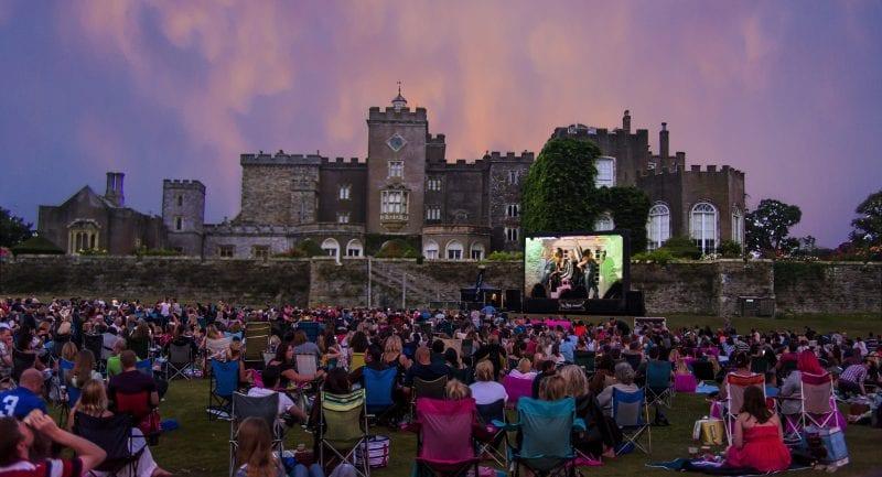 Devon's Top Attractions - days out in Devon - Outdoor Cinema at Powderham