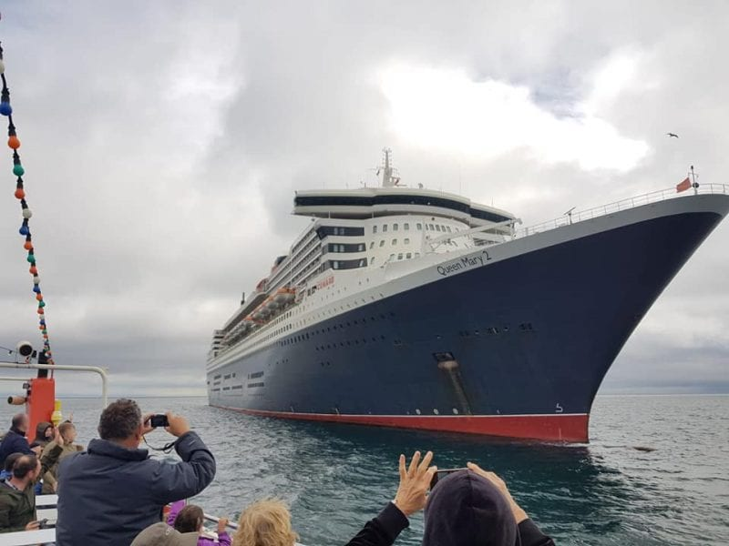 Stuart Line Cruises - Queen Mary 2 cruise tours