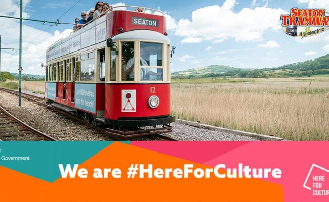 Seaton Tramway receives Here For Culture Grant image