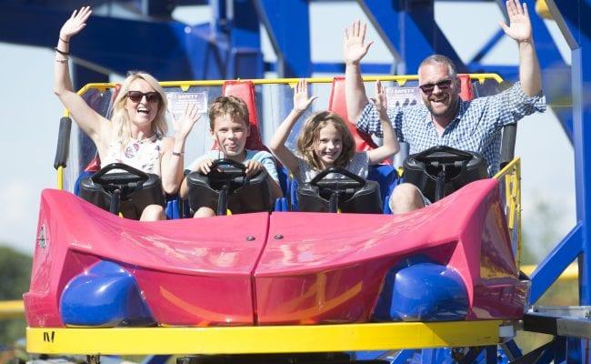 Devon's Top Attractions Summer fun at Crealy