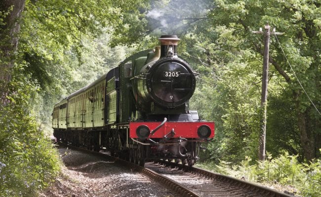 steam train sdr
