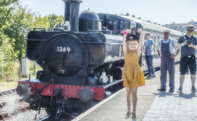 family fun at South Devon Railway