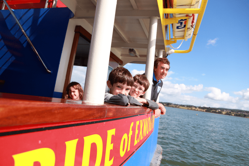 Devon's Top Attractions - Days out in Devon - Stuart Line Cruises