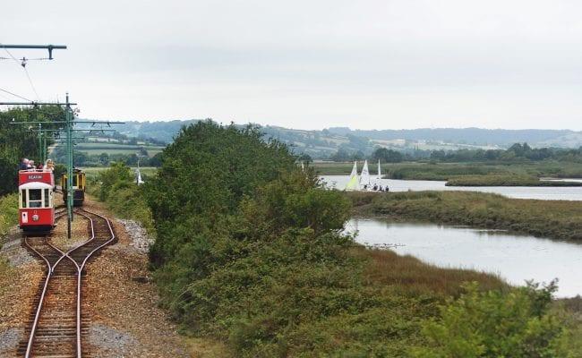 Seaton Tramway, Devon day out