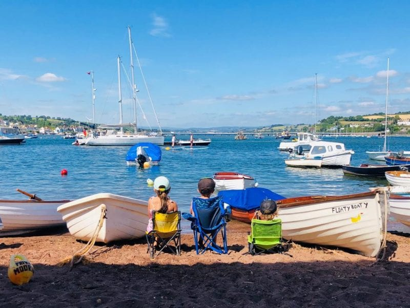 Devon's Top Attractions photo competition runner up winner Shelley Wardon back beach teignmouth