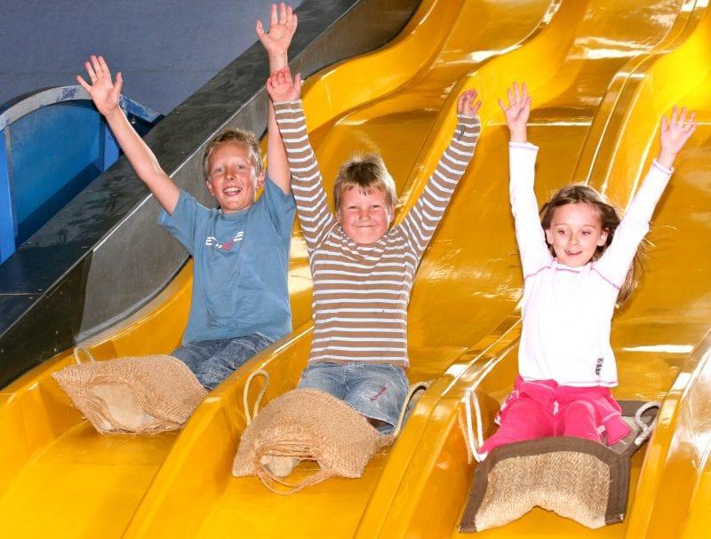 Slides rides at Crealy