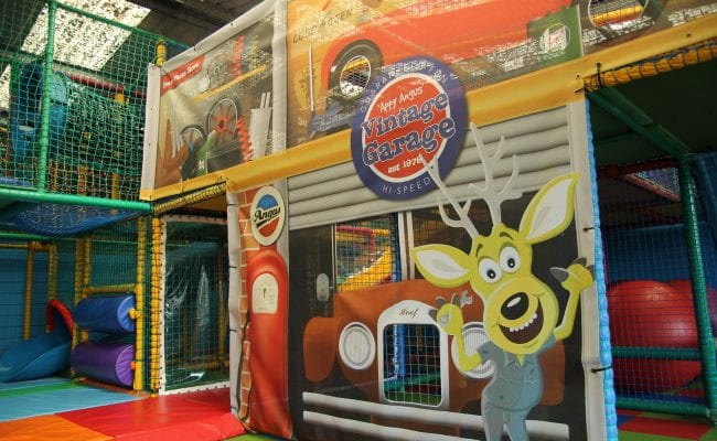 Soft Play at World of Country Life Exmouth Devon