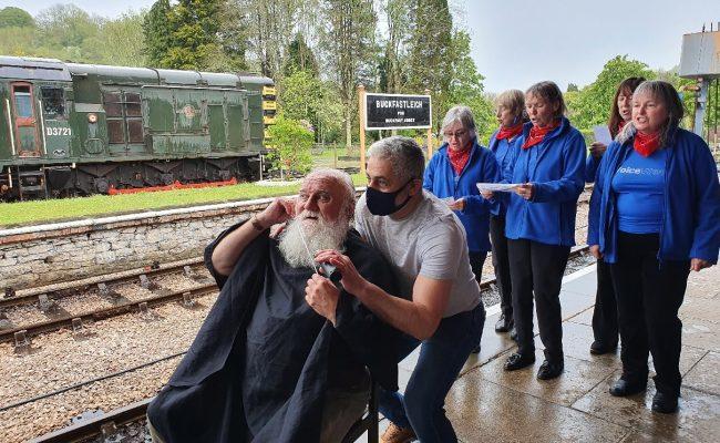 South Devon Railway - Beard Shave Dick Wood
