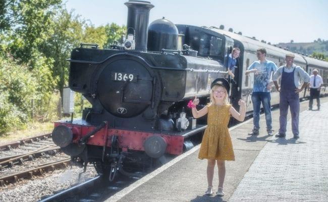 south devon railway - kids for a quid