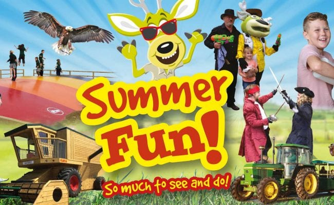 Summer Holiday Fun at World of Country Life Exmouth Devon