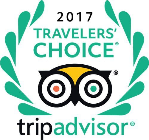 TRavelers Choice award