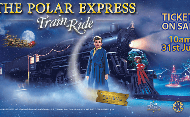 Polar Express comes to South Devon Railway