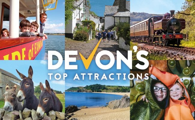 Devon's Top Attractions + logo