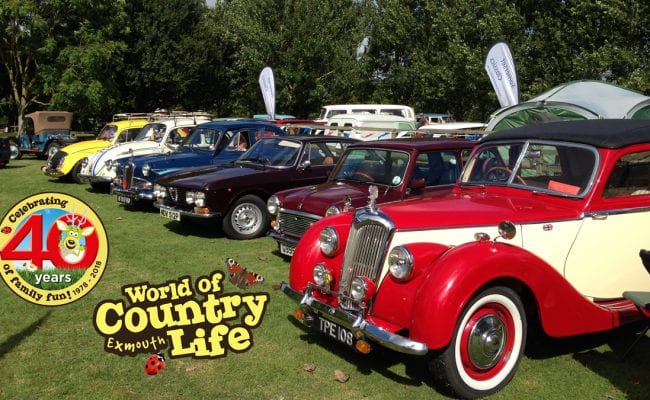 Vintage Classic Vehicle Rally World of Country Life Exmouth Devon