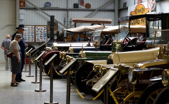Hall of Transport at World of Country Life, Exmouth Devon