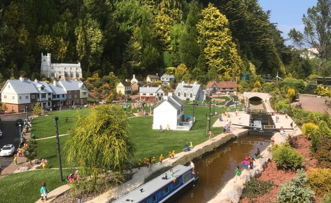 Mini Village at Babbacombe Devon
