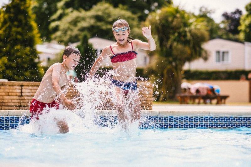Water fun at Cofton Holidays