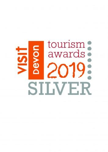 Devon Tourism Awards 2019 silver logo