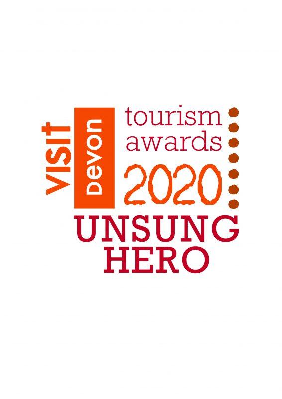 devon tourism UNSUNG Hero logo HERO
