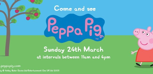 Peppa Pig at Wildwood Escot