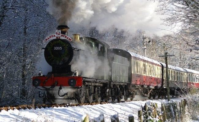 South Devon Railway Santa by Steam - Devon in December