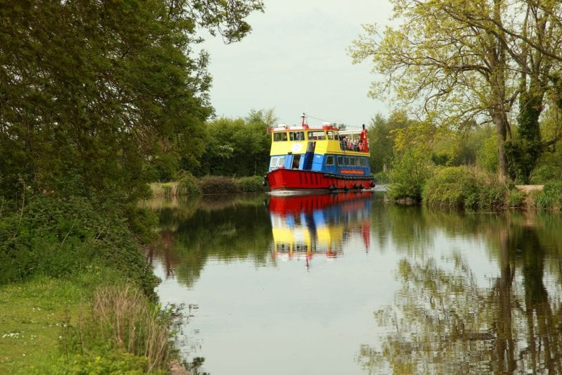 Exeter Canal Cruise with Stuart Line Cruises