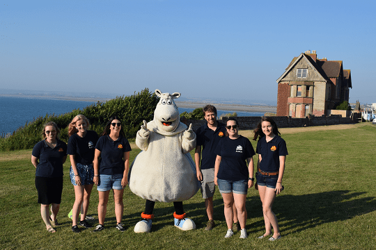 team Big Sheep take on the swcp challenge